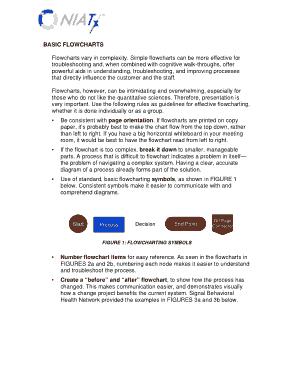 Free Download PDF Books, Basic Flowchart Template