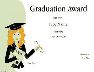 certificate presentations Template