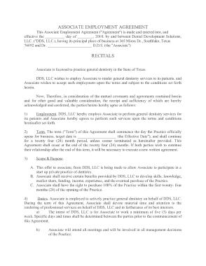 Free Download PDF Books, Dentist Employment Agreement Template