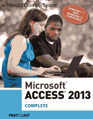 Microsoft Access 2013 Complete Book