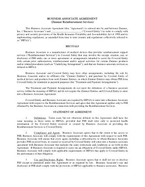 Free Download PDF Books, Market Access Atc Business Associate Agreement Sept3 Template