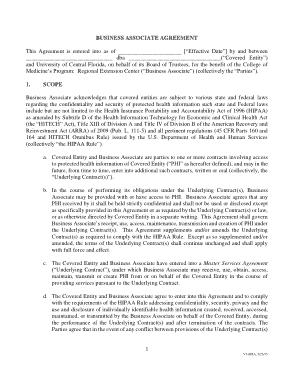 Free Download PDF Books, Rec Business Associate Agreement Final Fillable Template