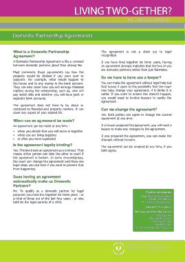 Free Download PDF Books, Domestic Partnership Agreement Template