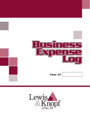 Free Download PDF Books, Business Expense Log Sheet Template