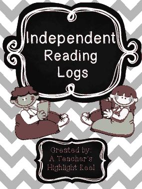 Reading Log Elementary Template