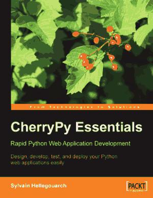 Free Download PDF Books, Cherrypy Essentials Rapid Python Web Application Development