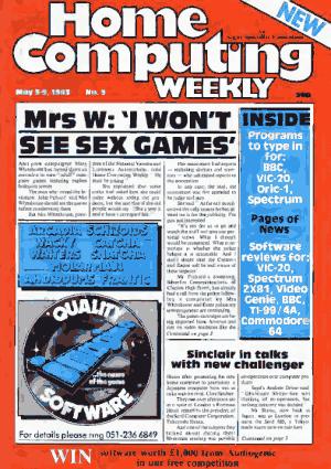 Home Computing Weekly Technology Magazine 009