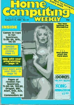 Home Computing Weekly Technology Magazine 023