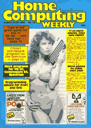 Home Computing Weekly Technology Magazine 025