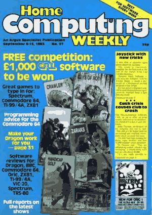 Home Computing Weekly Technology Magazine 027