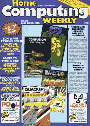 Home Computing Weekly Technology Magazine 029