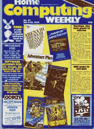 Home Computing Weekly Technology Magazine 031