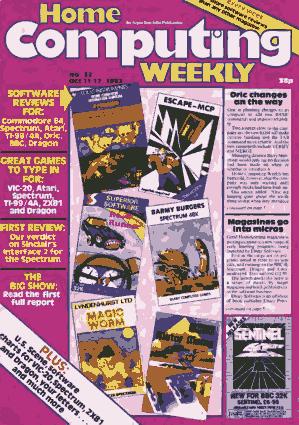 Home Computing Weekly Technology Magazine 032