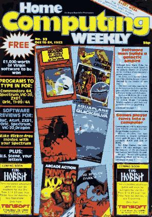 Home Computing Weekly Technology Magazine 033