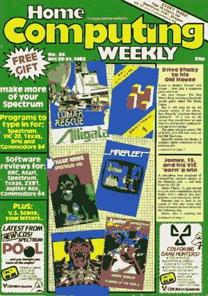 Home Computing Weekly Technology Magazine 034