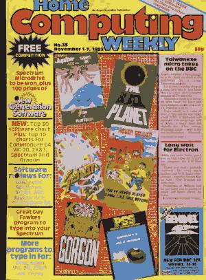 Home Computing Weekly Technology Magazine 035