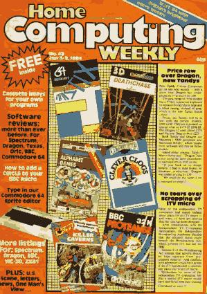 Home Computing Weekly Technology Magazine 043