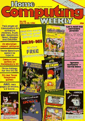 Home Computing Weekly Technology Magazine 049