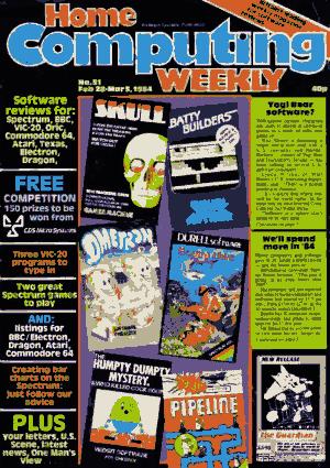 Home Computing Weekly Technology Magazine 051