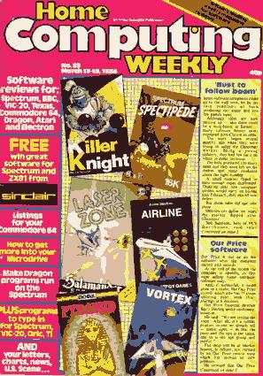 Home Computing Weekly Technology Magazine 053