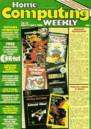 Home Computing Weekly Technology Magazine 055