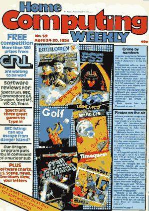 Home Computing Weekly Technology Magazine 059
