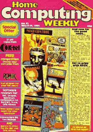 Home Computing Weekly Technology Magazine 061