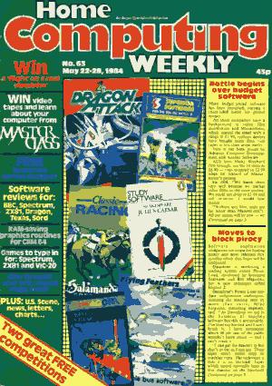 Home Computing Weekly Technology Magazine 063