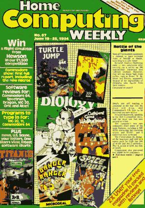 Home Computing Weekly Technology Magazine 067