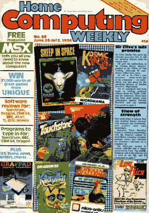 Home Computing Weekly Technology Magazine 068