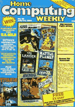 Home Computing Weekly Technology Magazine 069