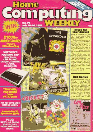 Home Computing Weekly Technology Magazine 070