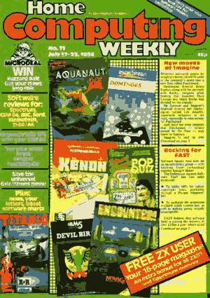Home Computing Weekly Technology Magazine 071
