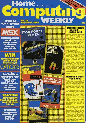 Home Computing Weekly Technology Magazine 072