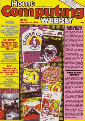 Home Computing Weekly Technology Magazine 075