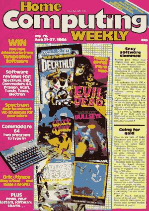 Home Computing Weekly Technology Magazine 076