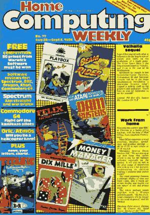 Home Computing Weekly Technology Magazine 077