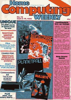 Home Computing Weekly Technology Magazine 078