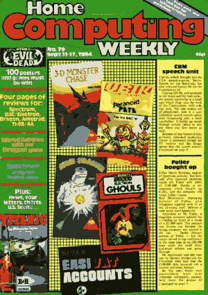 Home Computing Weekly Technology Magazine 079