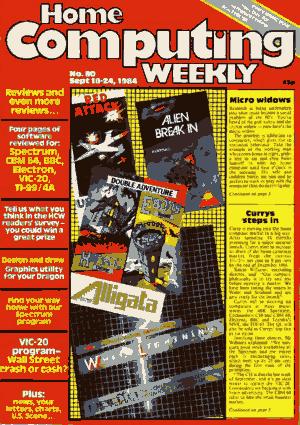 Home Computing Weekly Technology Magazine 080
