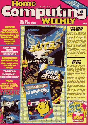 Home Computing Weekly Technology Magazine 083