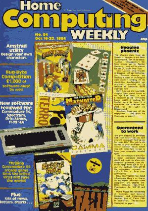 Home Computing Weekly Technology Magazine 084