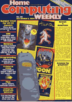 Home Computing Weekly Technology Magazine 086