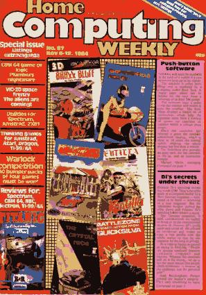 Home Computing Weekly Technology Magazine 087