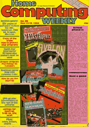 Home Computing Weekly Technology Magazine 088