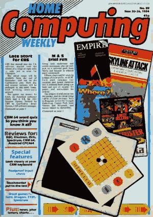 Home Computing Weekly Technology Magazine 089