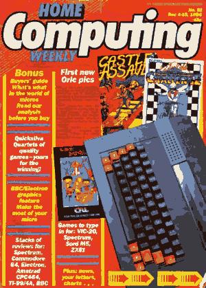 Home Computing Weekly Technology Magazine 091
