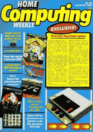 Home Computing Weekly Technology Magazine 096