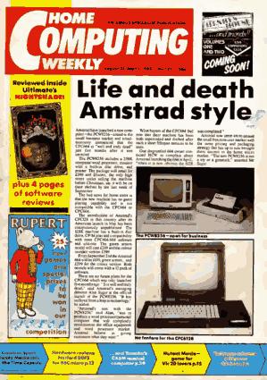 Free Download PDF Books, Home Computing Weekly Technology Magazine 127