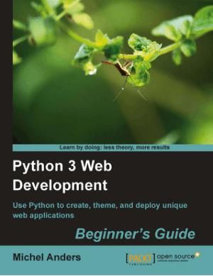 Free Download PDF Books, Python 3 Web Development